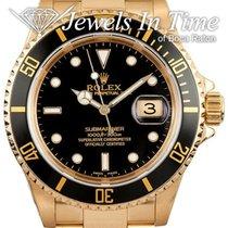 Rolex Submariner Date Yellow gold 40mm Black