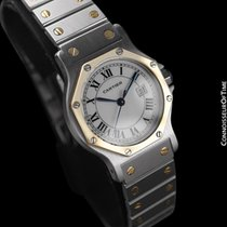 Cartier Santos (submodel) 6633ST 1990 pre-owned
