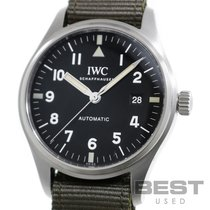 IWC Pilot Mark Zeljezo 40mm Crn