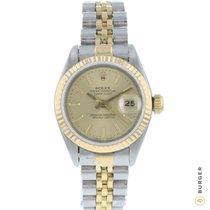 Rolex 69173 Zlato/Zeljezo 1991 Lady-Datejust 26mm rabljen
