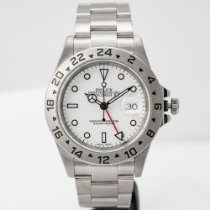 Rolex Explorer II Steel 40mm White No numerals United States of America, Massachusetts, Boston