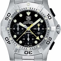 TAG Heuer Aquagraph Steel 43mm Black No numerals United States of America, New York, Greenvale