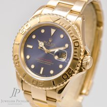 Rolex Yachtmaster Ref. 16628 Gold 750 Blue Dial