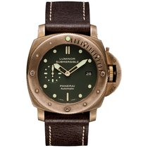 Panerai Bronze Automatic Green 47mm new Special Editions