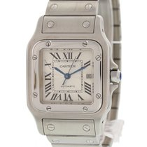 Cartier Santos Galbee Stainless Steel Date Watch 2319