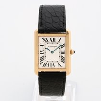 Cartier Tank Solo yellow gold/ steel large size