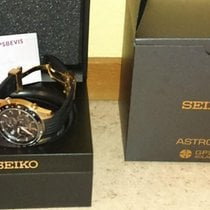 Seiko Astron GPS Solar Chronograph Steel 44,6mm Black