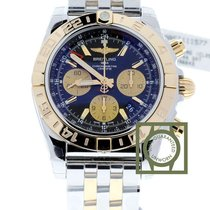 Breitling Chronomat 44 GMT Chronograph Steel/Pink Gold Black...