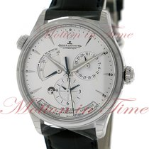 Jaeger-LeCoultre Master Geographic Steel 39mm Silver No numerals United States of America, New York, New York