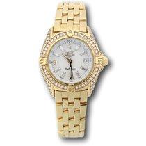 Breitling Callistino neu Quarz Uhr mit Original-Papieren REF. K5204563/A277