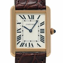 Cartier Tank Solo Rose gold 34.8mm Silver