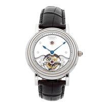 Parmigiani Fleurier Platinum Manual winding Silver 40mm pre-owned Toric