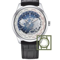 Jaeger-LeCoultre Geophysic Universal Time Staal 41.6mm Blauw