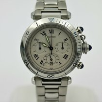 Cartier Steel 38mm Chronograph WH31018H3 pre-owned United States of America, California, Newport Beach