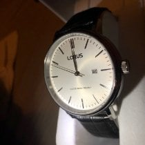 Lorus Silver 41,5mm Quartz pc32-x061 pre-owned