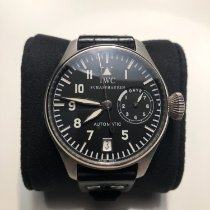 IWC Platinum Automatic 46mm pre-owned Big Pilot