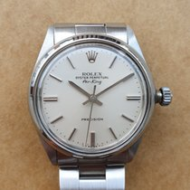 Rolex Air King Precision Steel Silver No numerals Singapore, Singapore