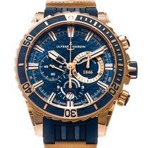 Ulysse Nardin Diver Chronograph Rose gold 44mm Blue United States of America, Texas, Houston