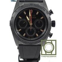 帝陀 陶瓷 自動發條 黑色 42mm 新的 Fastrider Black Shield