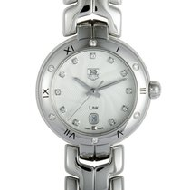 TAG Heuer Link Lady Steel 29mm Silver Roman numerals