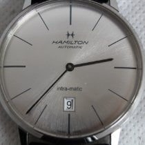 Hamilton Intra-Matic pre-owned 42mm Leather