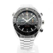 Omega Seamaster Planet Ocean Chronograph Staal 45.5mm Zwart