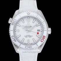 Omega Seamaster Planet Ocean Steel 39.5mm White United States of America, California, San Mateo