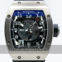 Richard Mille White gold 48mm Automatic RM-010 pre-owned