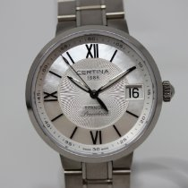 Certina DS Stella Titanium 31.5mm Silver Roman numerals