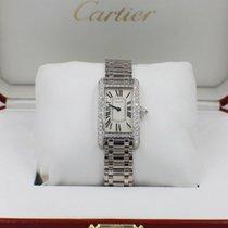 Cartier Tank Américaine Белое золото 19mm Цвета шампань
