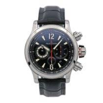 Jaeger-LeCoultre Master Compressor Chronograph 2 Сталь Чёрный Aрабские