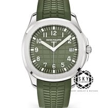 Patek Philippe Aquanaut White gold 42.2mm Green Arabic numerals United States of America, New York, New York