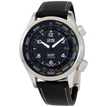 Oris Big Crown ProPilot Altimeter Steel 47mm Black Arabic numerals United States of America, New Jersey, Somerset