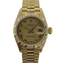 Rolex Lady-Datejust Yellow gold 26mm Champagne United States of America, California, Los Angeles