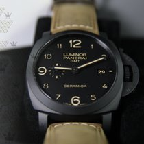 沛納海 PAM00441  Luminor 1950 3 Days GMT Automatic Ceramica