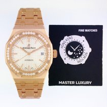 Audemars Piguet 15451OR.ZZ.1256OR.01 Rose gold 2019 Royal Oak Lady 37mm new United States of America, New York, NEW YORK