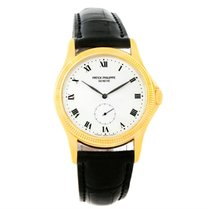 Patek Philippe Calatrava 18k Yellow Gold Watch 5115 Papers
