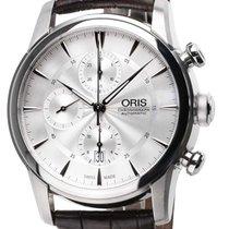 Oris Artelier Chronograph Steel 44mm Silver