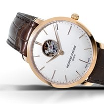 Frederique Constant 40mm Automatic new Slimline Heart Beat Automatic Silver