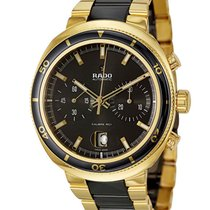Rado D-Star 200 Automatic Chronograph Gold Plated & Ceramic...
