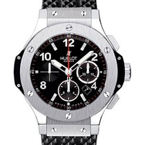 Hublot Big Bang 44 mm Steel 44mm Black Arabic numerals United Kingdom