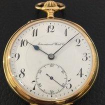 IWC Pocket Watch 18K Yellow gold dial ceramic