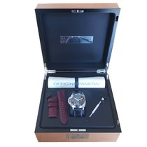 Panerai Special Editions Militare  Left Handed in Steel  NOS