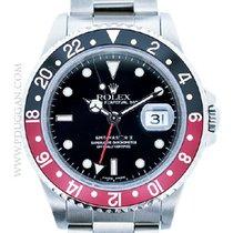 Rolex stainless steel GMT-Master II
