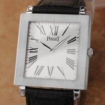 Piaget Protocole Manual 33mm Solid 18k White Gold Luxury c...