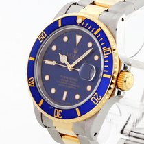 Rolex Oyster Perpetual Submariner Date Edelstahl/18 K Gold...
