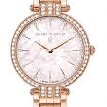 Harry Winston Rose gold Quartz 36mm new Premier