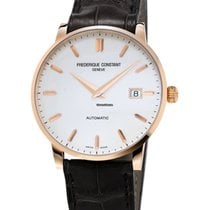 Frederique Constant Yellow gold Automatic 40mm new Slimline Automatic