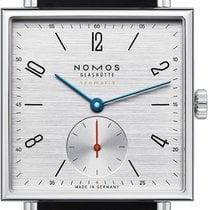 NOMOS 423 Staal Tetra Neomatik nieuw