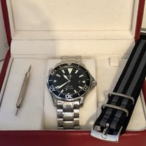 Omega Seamaster Professional 300m Quartz Black Dial Men's watch
